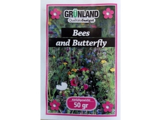 Blumenmischung Bees and Butterfly 50g